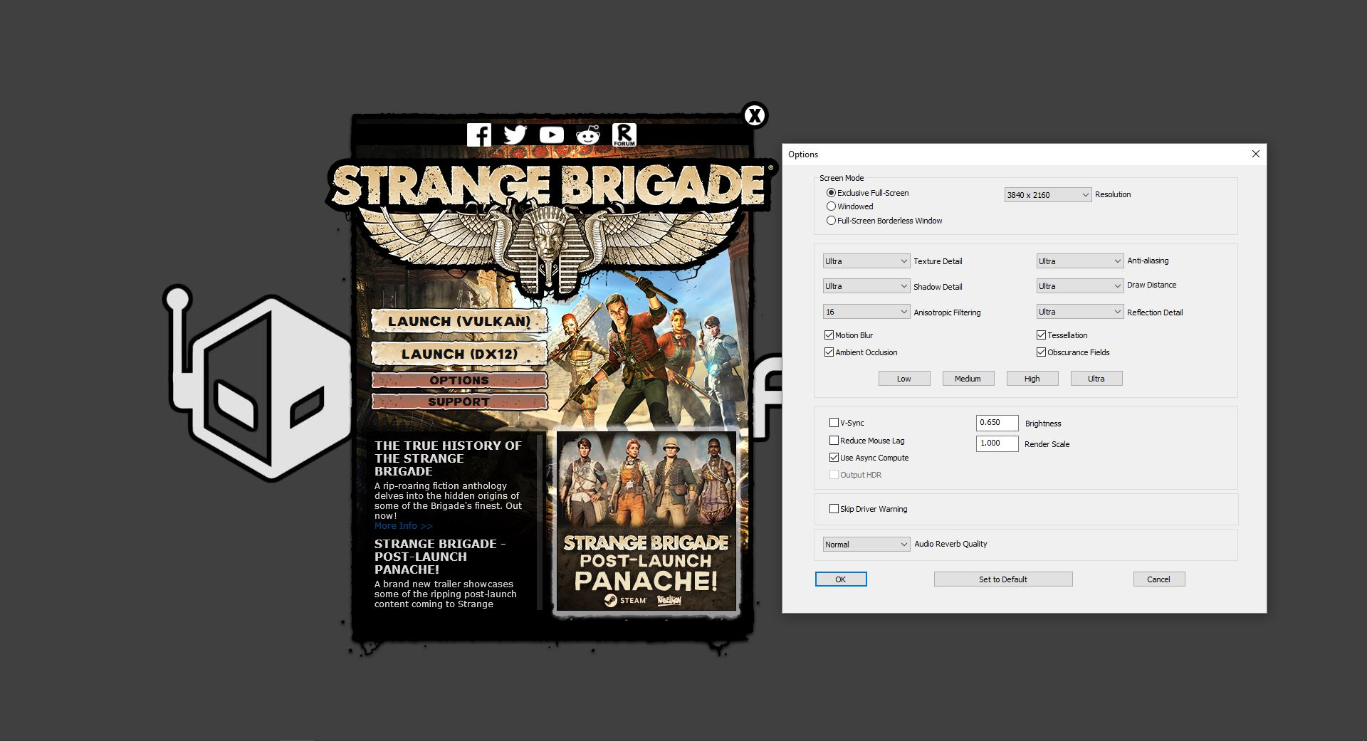 Vulkan Radeon mGPU Performance in Strange Brigade Tested