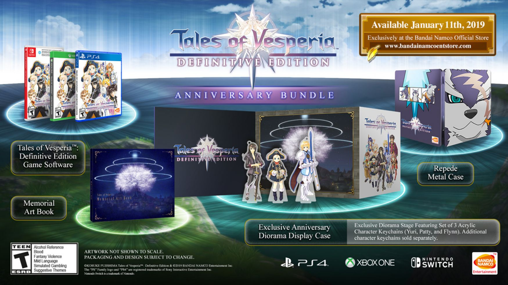 UPDATE]Tales of Vesperia Definitive Edition Nintendo Switch May