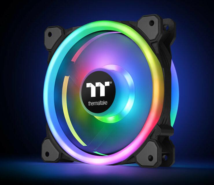 Thermatake Announces Riing Trio 14 RGB Radiator Fan TT