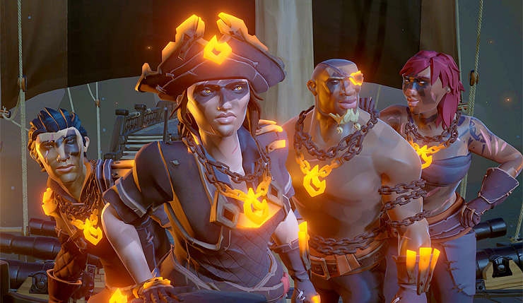 Sea of Thieves Crossplay Xbox PC change