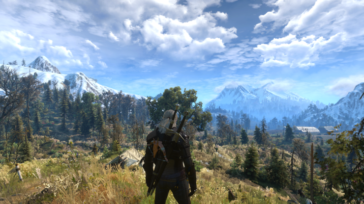 The Witcher 3 And Skyrim SE Looks Amazing With Ray Tracing Enabled