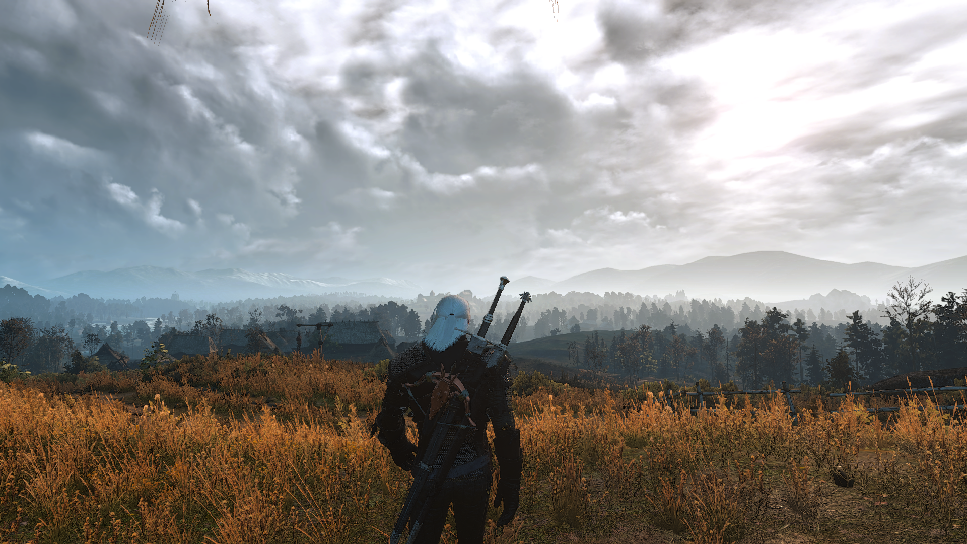 The Witcher 3 New Mod Improves Camera Inside Buildings