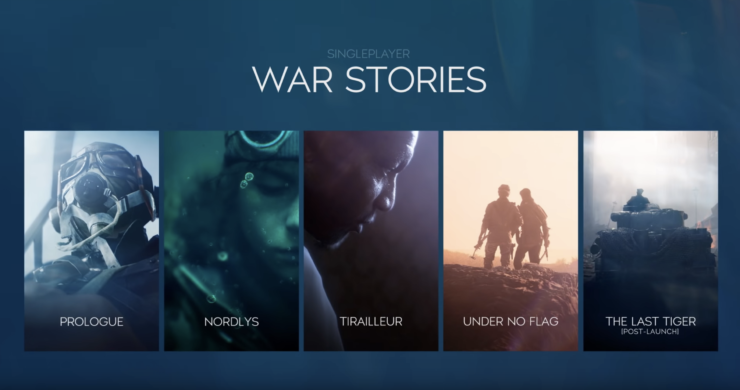 battlefield v trailer battle royale war stories