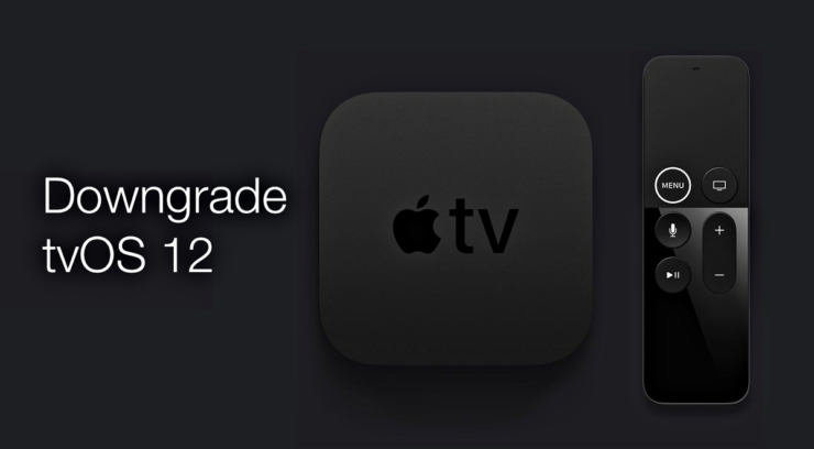 downgrade tvOS 12