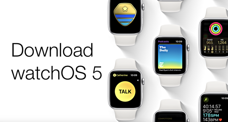 download watchOS 5