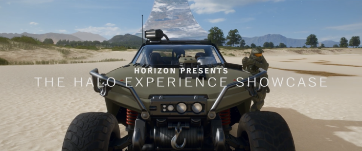 forza horizon 4 halo showcase experience gameplay