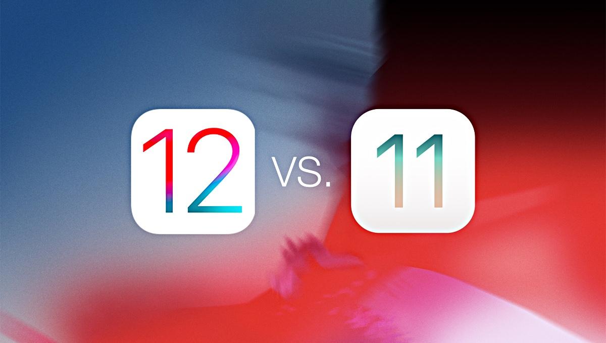 ios 12 gm vs ios 11 4 1 speed test on iphone 6 iphone 5s ipad air