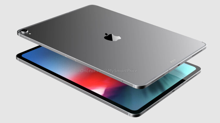 References of the new iPad Pro design found in the iOS code