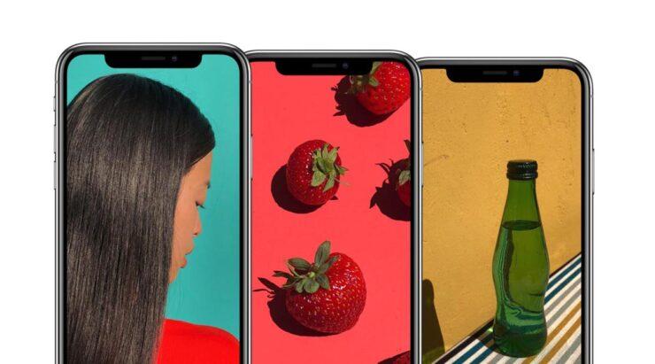iPhone bigger screens Apple services profit