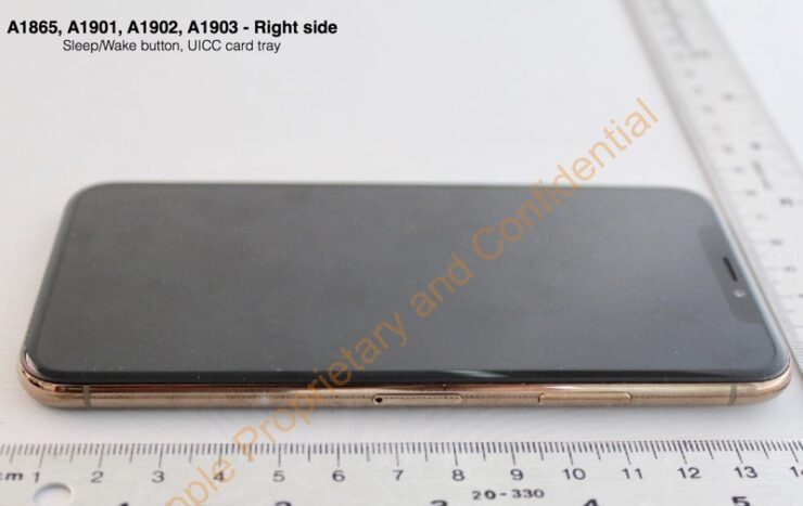 Gold iPhone X FCC Leak