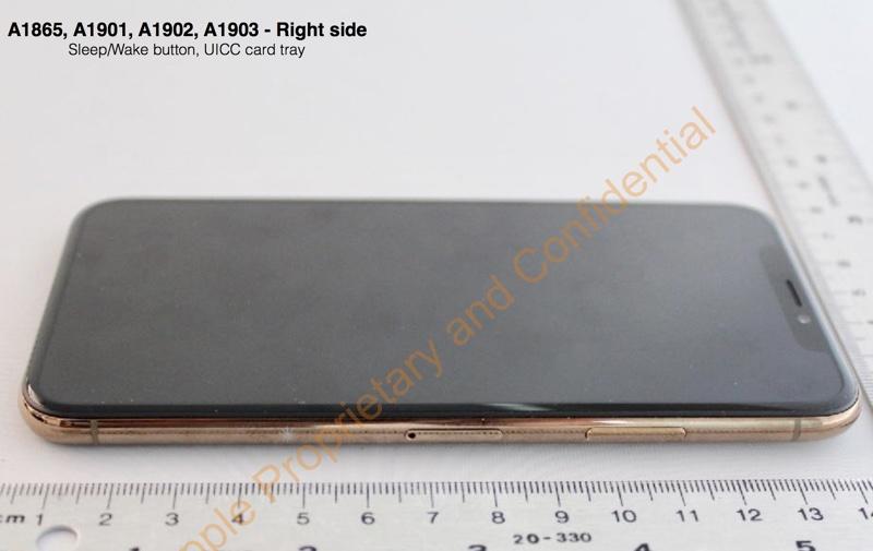 Gold iPhone X FCC Leak