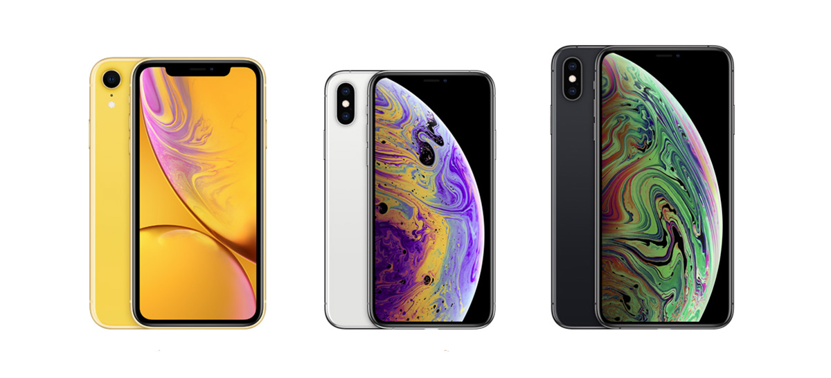 Iphone xr vs xs vs x