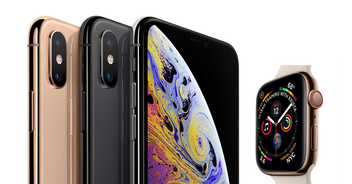 new style 2852d f6669 iPhone XS Max and Apple Watch Series 4 Shipping Dates Have Started ...