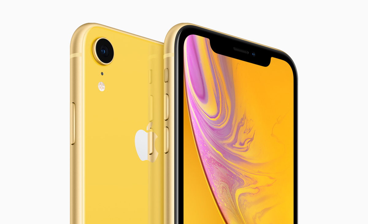 1 iphone xr apple iphone xr official 6 1 inch 120hz lcd edge to edge glass with a12 chipset and