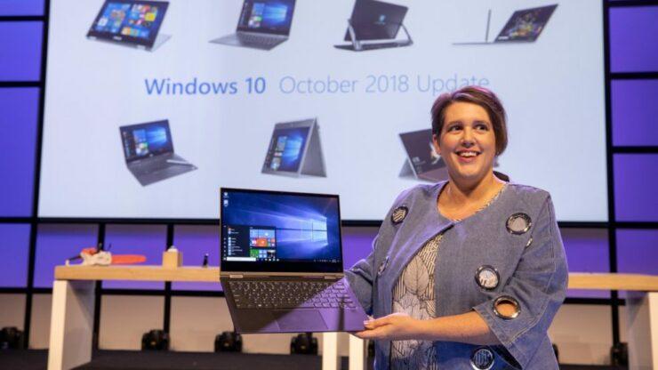 windows 10 1809 windows 10 october 2018 update