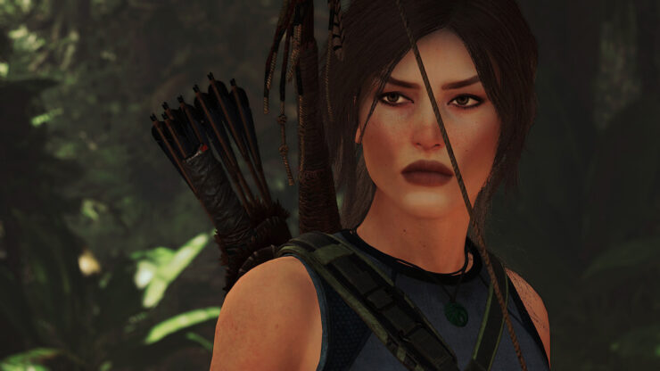 New Shadow Of The Tomb Raider Face Mod Replaces Lara S Face