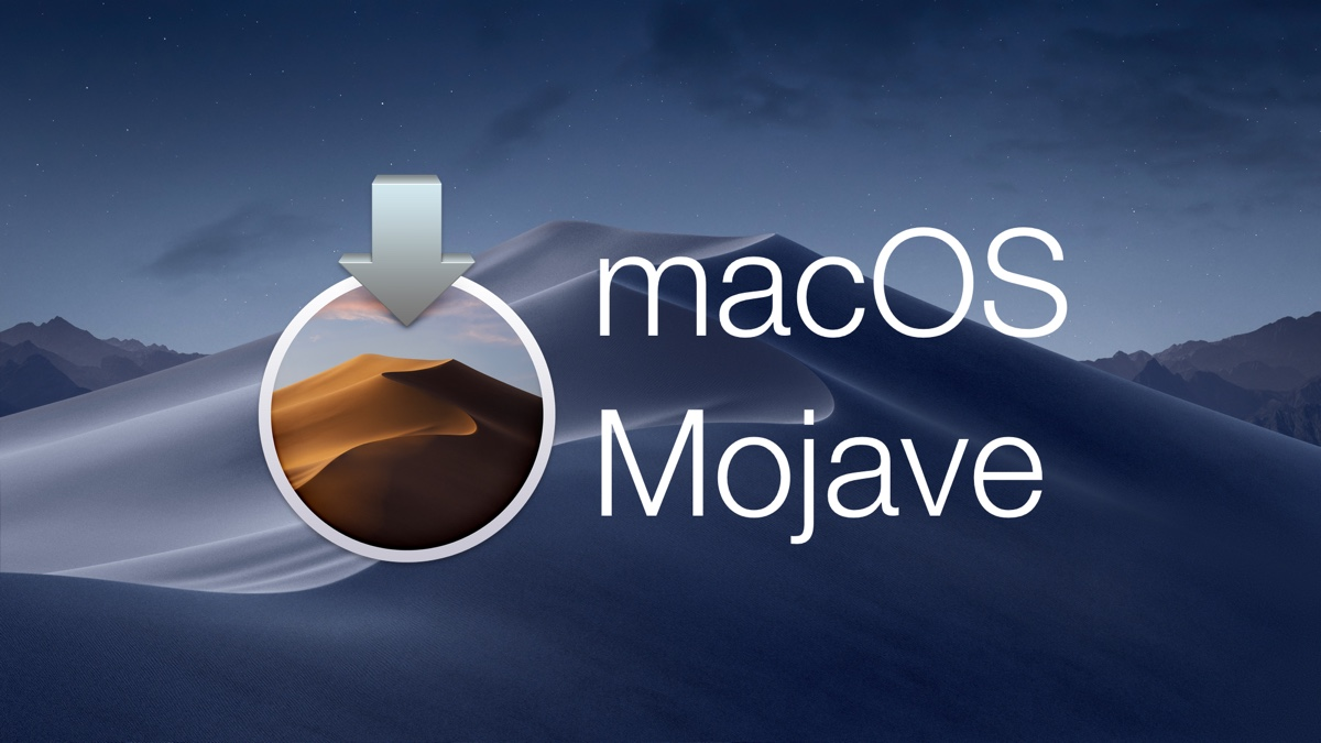 Download: macOS Mojave Final Released [Mac App Store link]