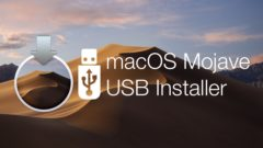 bootable USB installer drive