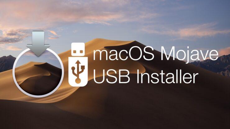 bootable USB installer drive