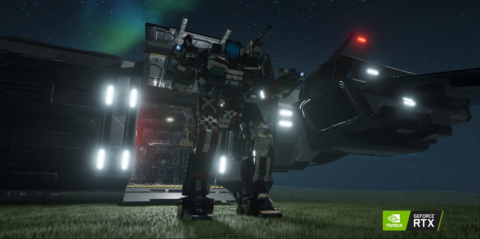 MechWarrior 5: Mercenaries Developer on NVIDIA RTX and