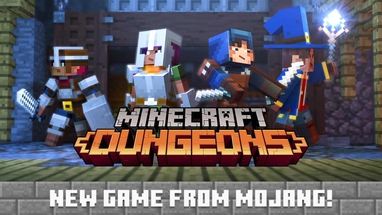 Minecraft: Dungeons Announced