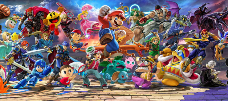 Super Smash Bros Ultimate DLC Fighter 4