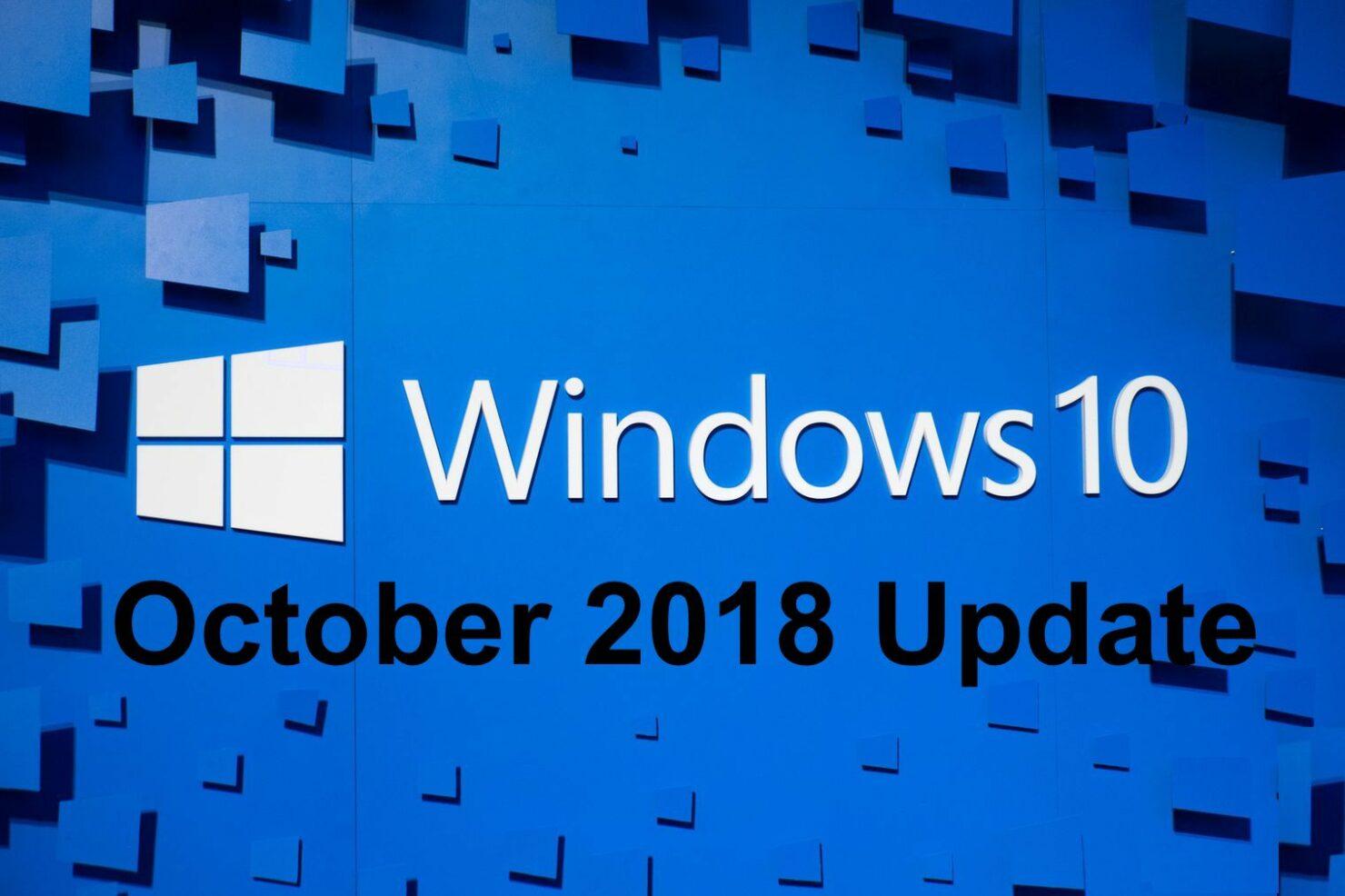 Download Windows 10 1809 ISO Windows 10 October 2018 Update
