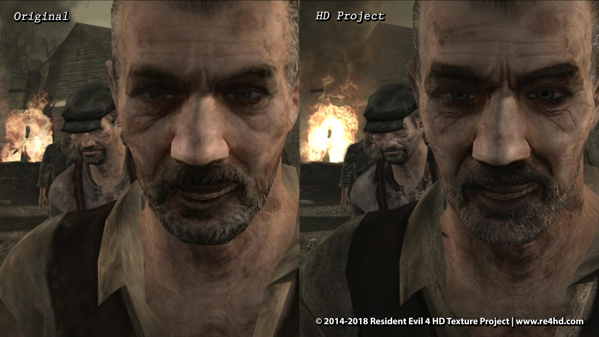 Resident Evil 4 Hd Project New Screenshots Showcase Character