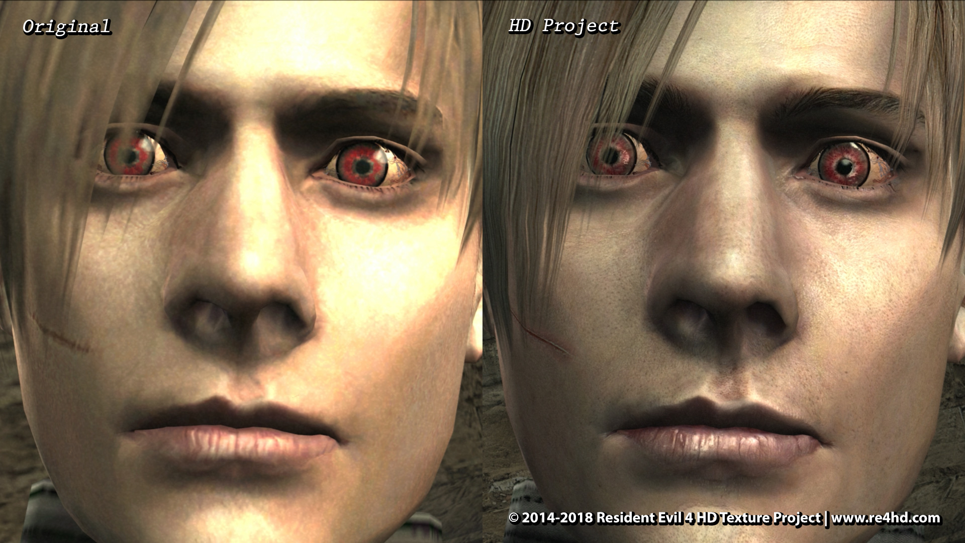 Resident Evil 4 Hd Project New Screenshots Showcase Character