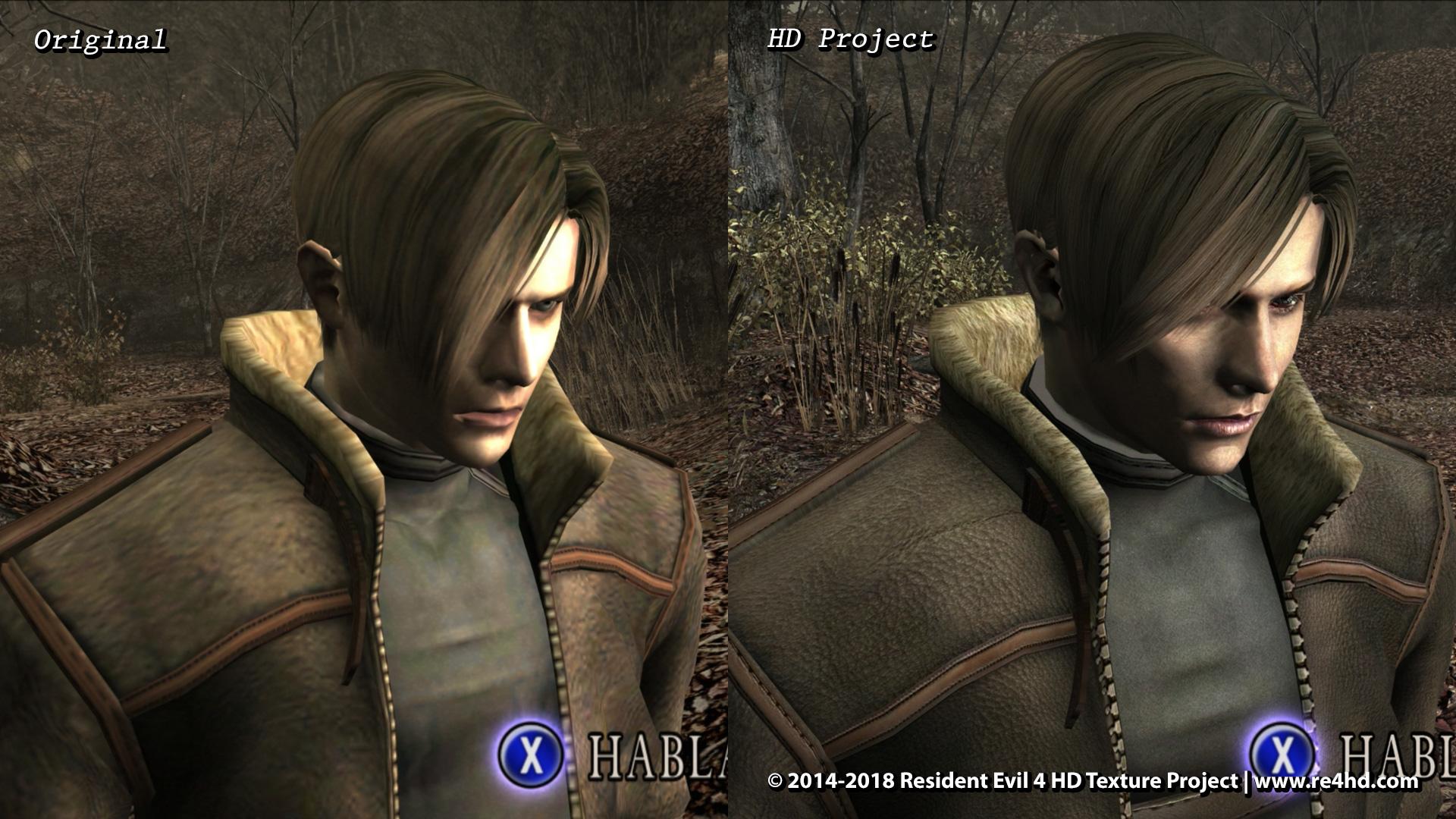 Resident Evil 4 Hd Project New Screenshots Showcase Character Models Improvements