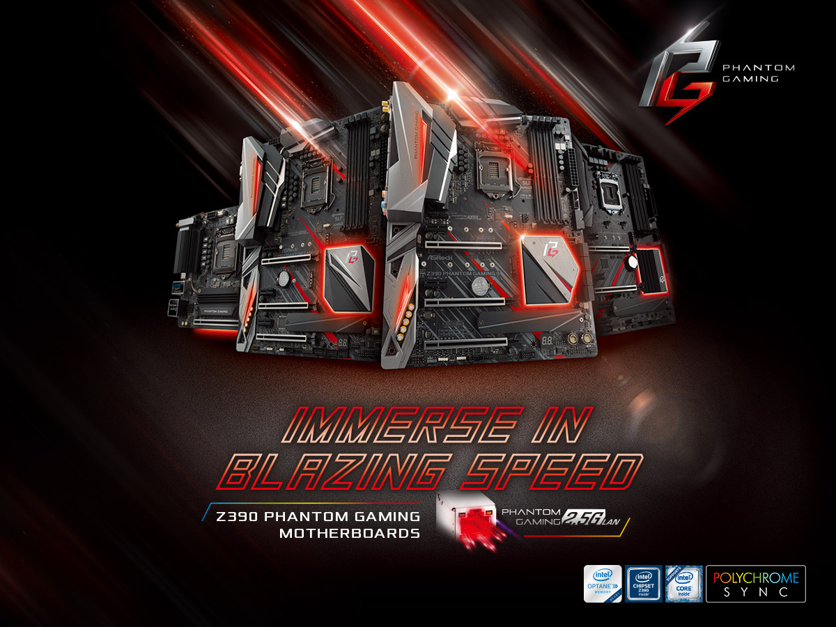ASRock Z390 Intel 9th Generation CPU Motherboards