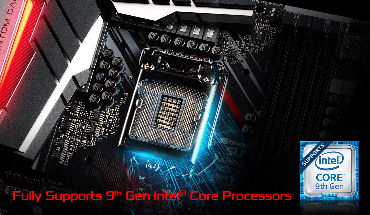 ASRock Unveils Z390 Motherboards For Intel 9th Generation CPUs