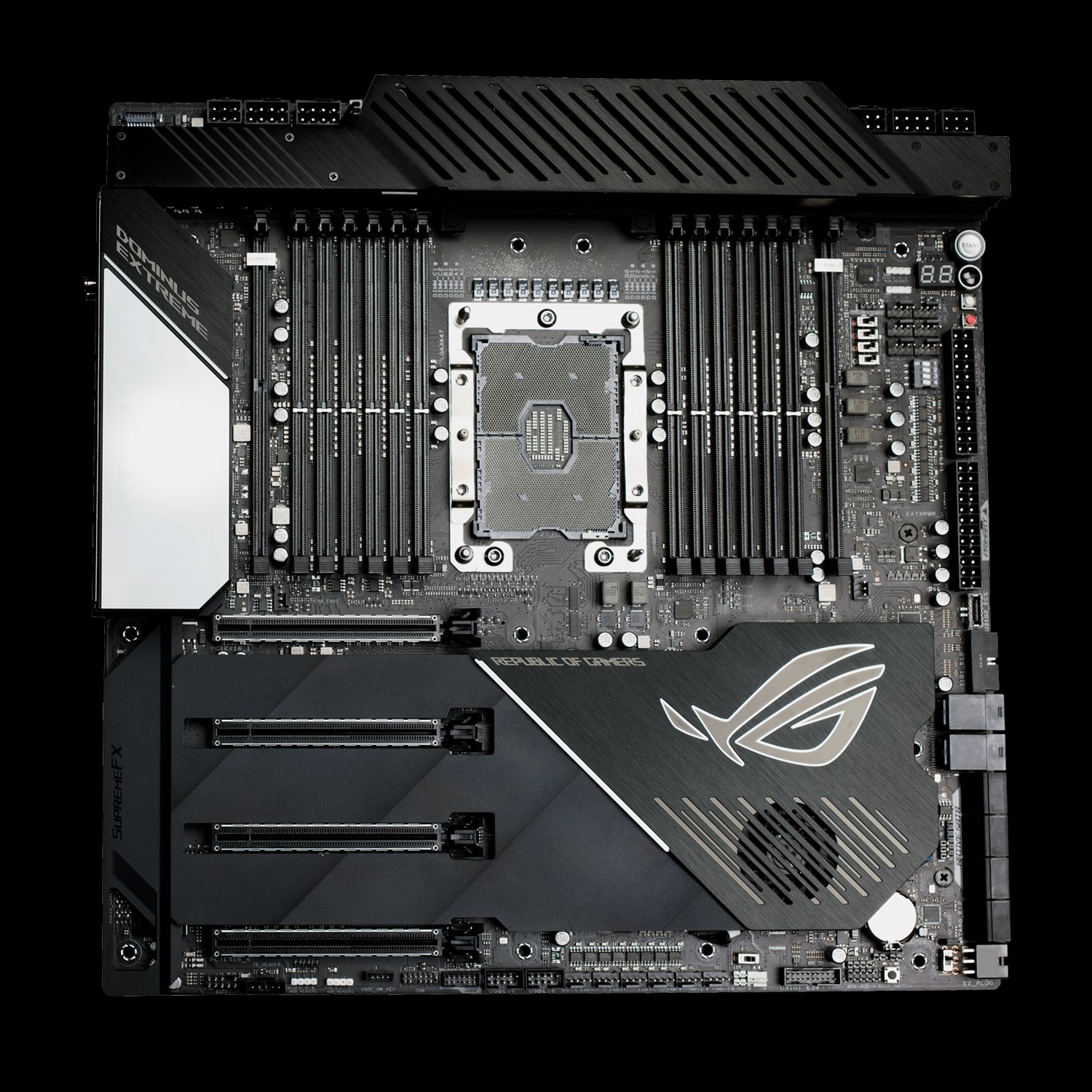 ASUS ROG Dominus Extreme Motherboard For Intel 28 Core Announced