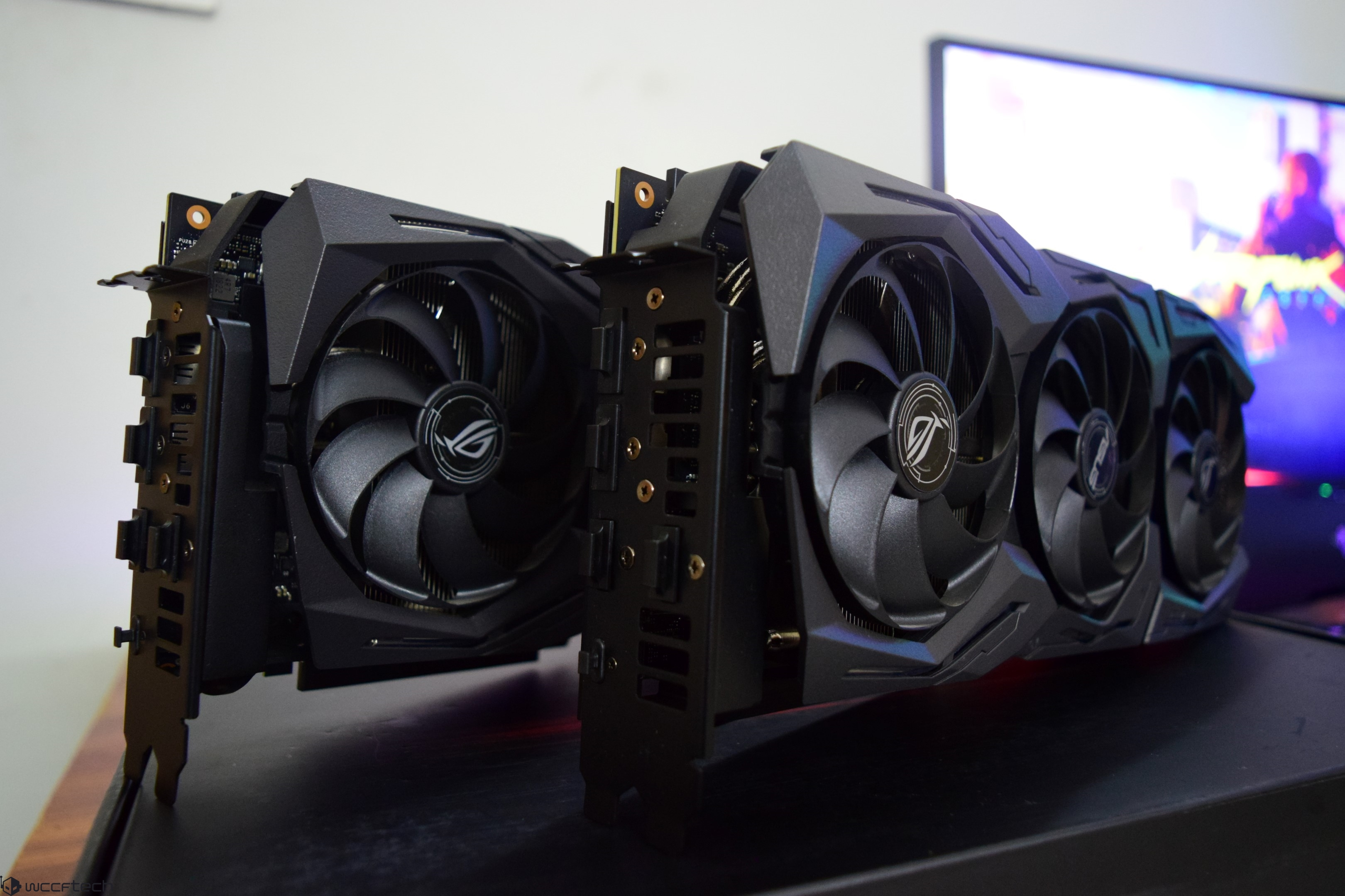 ASUS ROG STRIX GeForce RTX 2080 Ti 11 GB OC and ROG STRIX