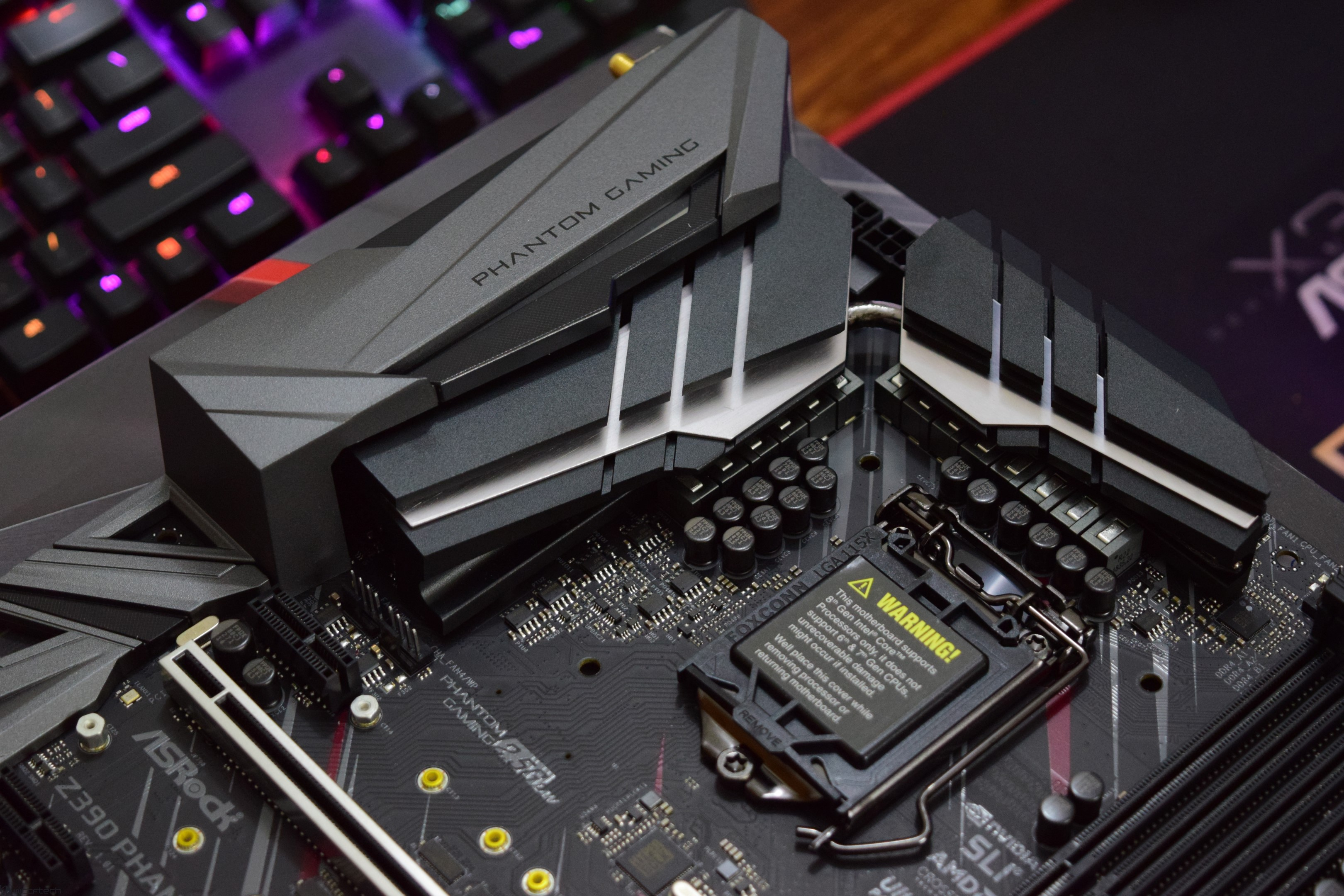 ASRock Z390 Phantom Gaming 9 Motherboard Review – Phantom Gaming