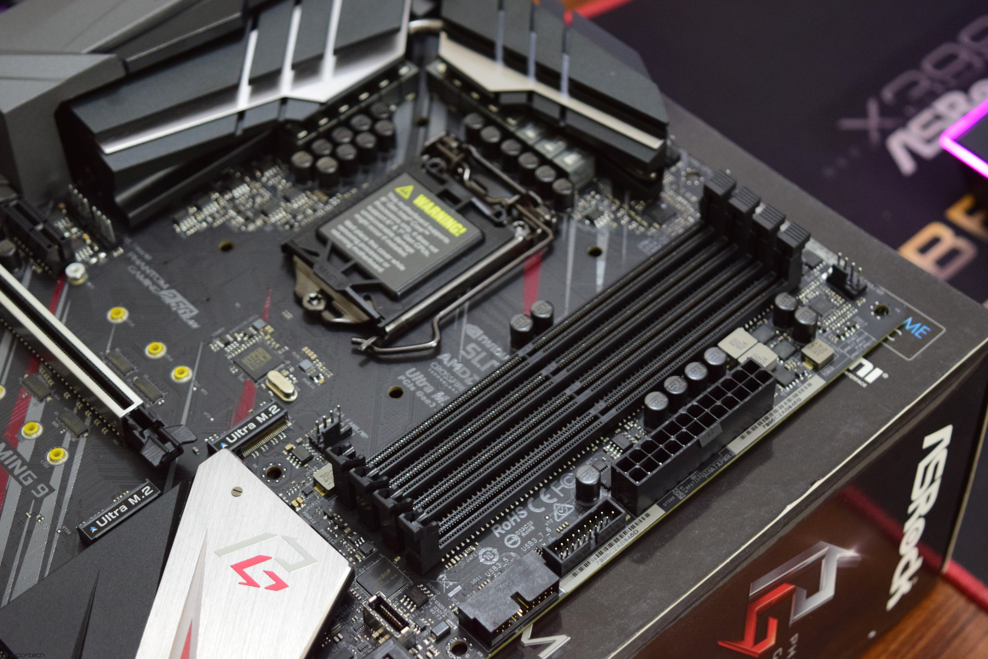 ASRock Z390 Phantom Gaming 9 Motherboard Review – Phantom