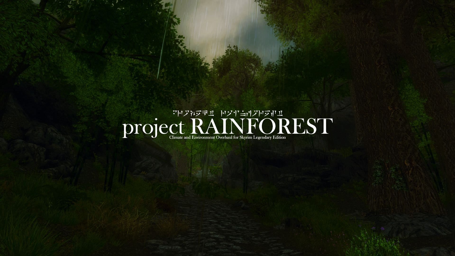 The Elder Scrolls V: Skyrim Legendary Edition Project Rainforest Mod