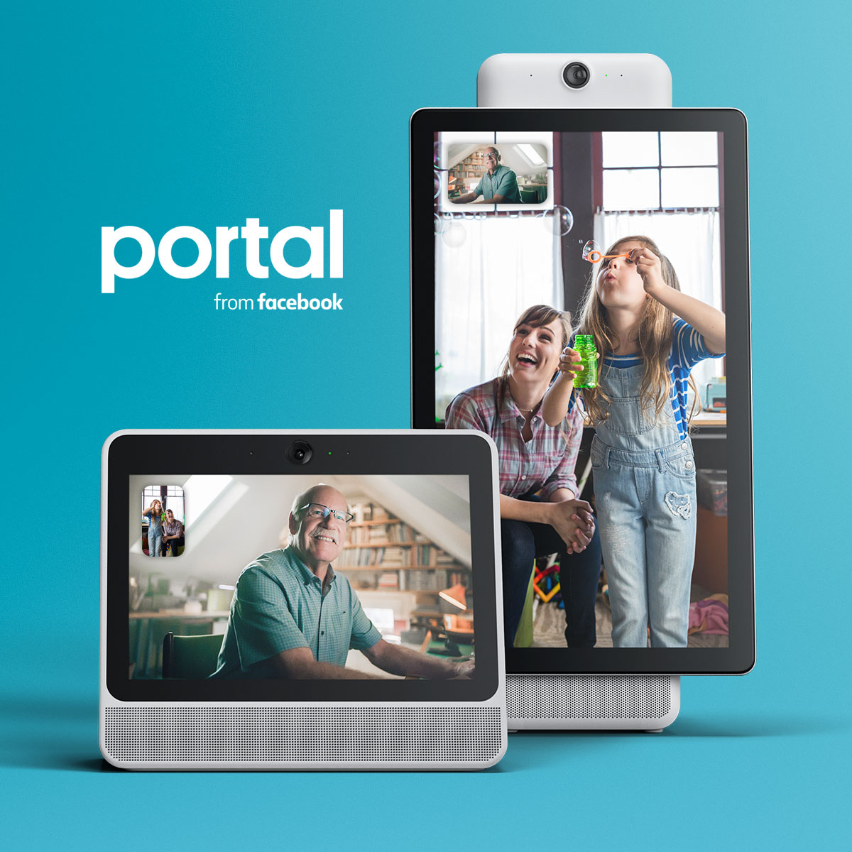 Facebook Unveils Their First Ever Smart Speakers Called The Portal Facebook collects and may review voice data from interactions with the portal. ever smart speakers called the portal