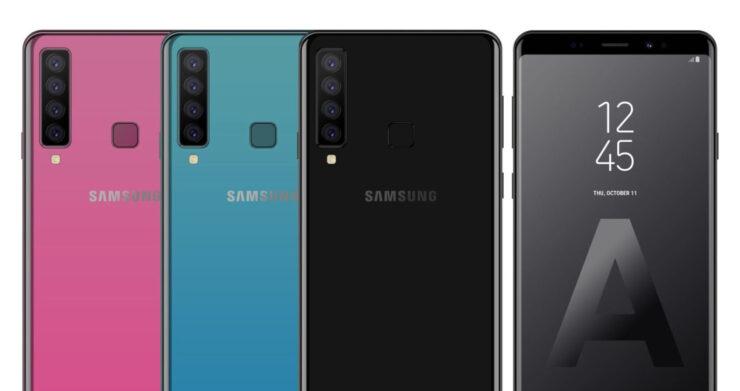 Galaxy A9s quadruple camera smartphone Geekbench leak
