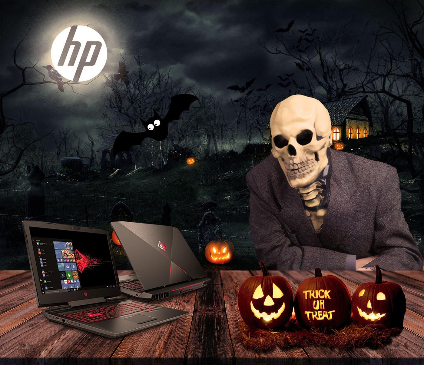 hp halloween deals are now live! omen gaming laptops, desktops, vr