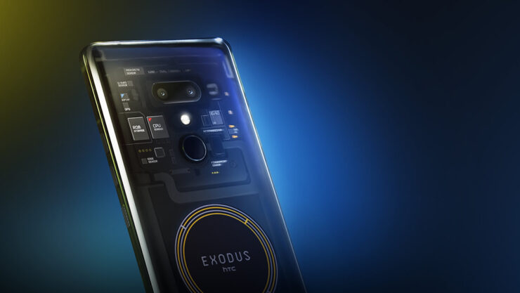 HTC Exodus 1 official Blockchain smartphone specs features pricing