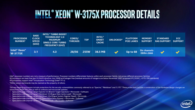 Intel 9th Gen Core i9-9900K & Core i9-9980XE CPUs Officially Announced