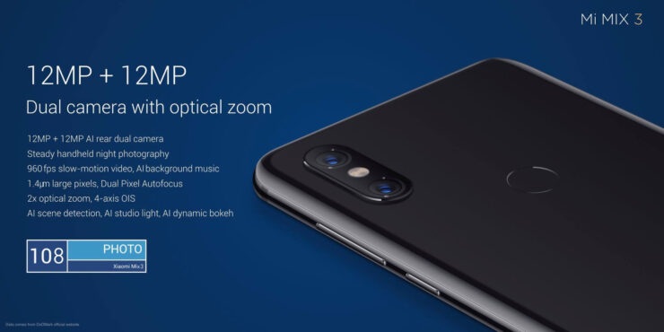 Xiaomi Mi MIX 3 Is Official - Comes With 10GB RAM, 5G