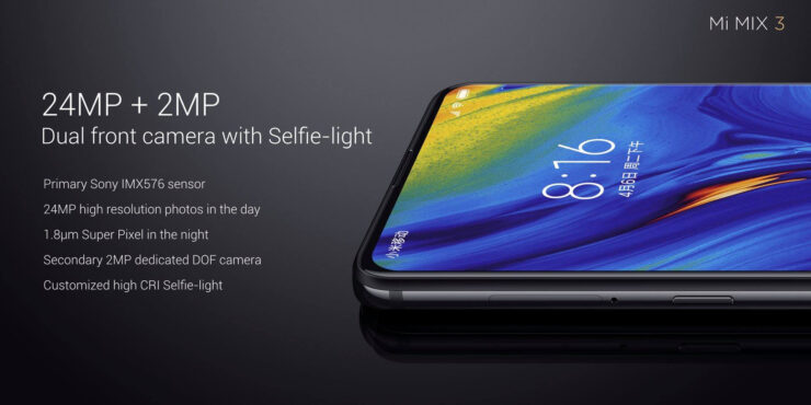 Xiaomi Mi Mix 3 Is Official Comes With 10gb Ram 5g