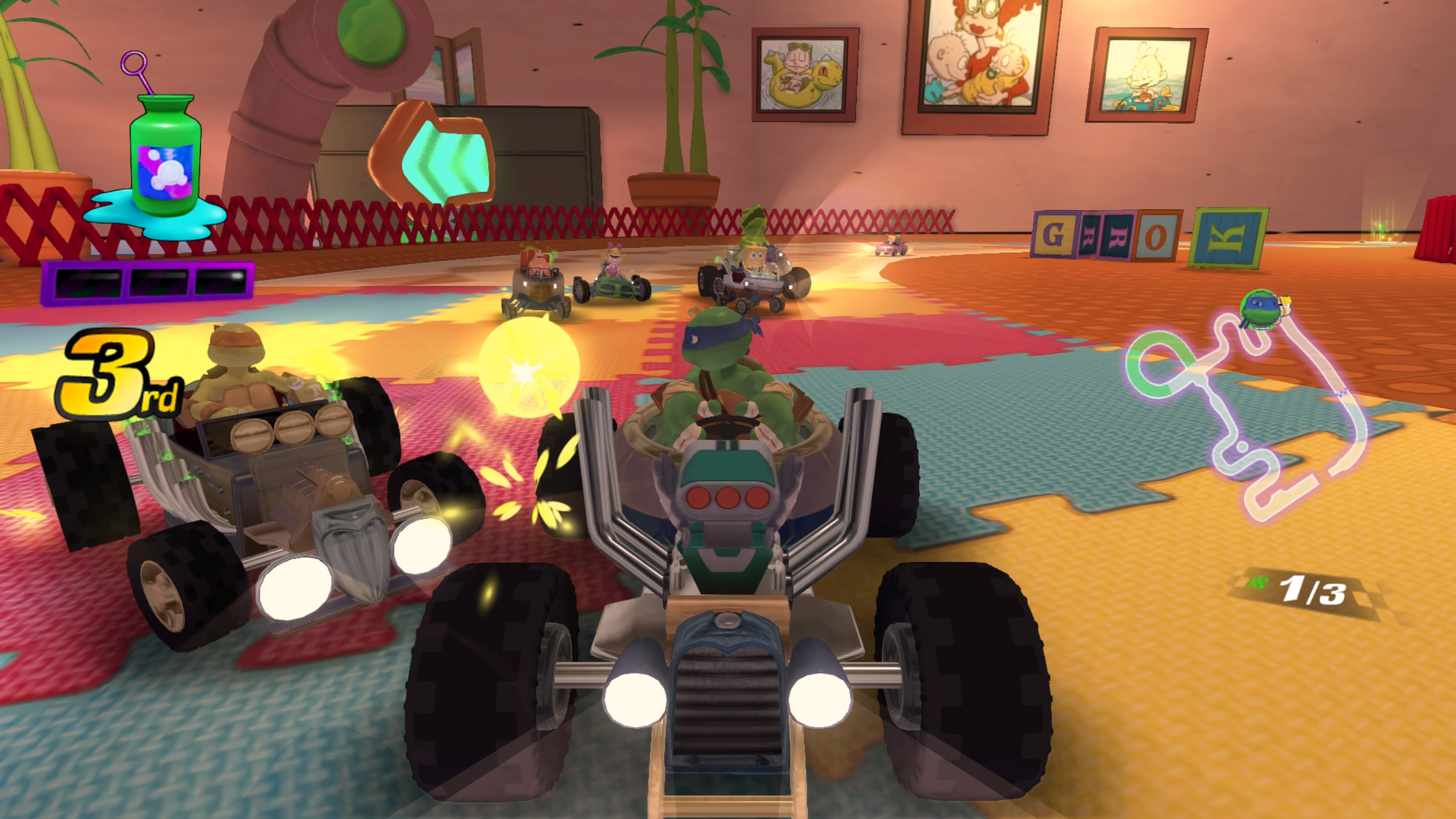 Nickelodeon Kart Racers Review - Oh The Humanity