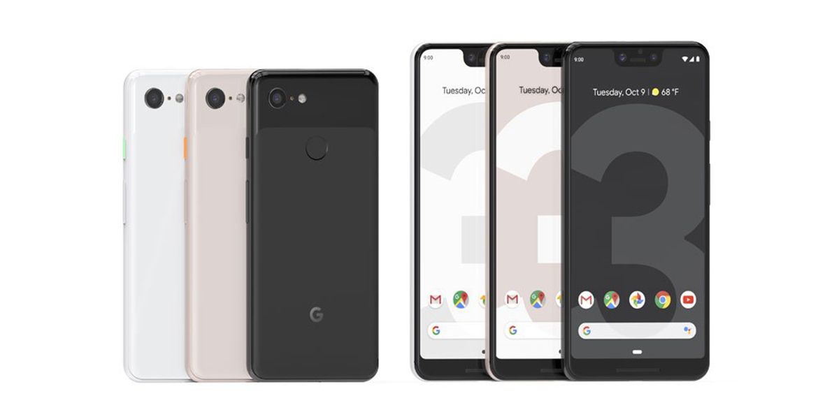 Google Pixel 3 XL official specs features pricing availability