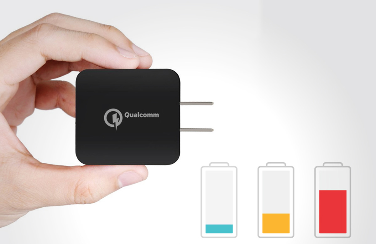 Qualcomm Triple Charge Technology up to 32 watts