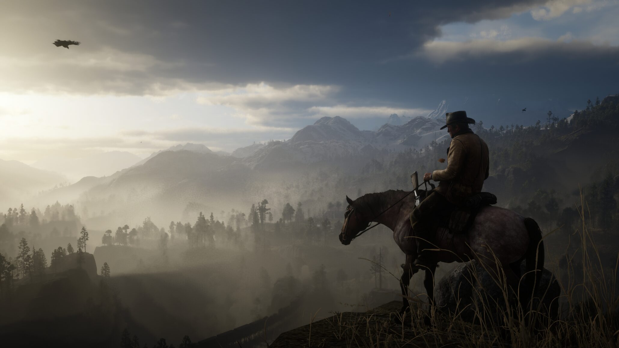 Solid Red Dead Redemption 2 PC Video Surfaces; Most ...  Solid Red Dead ...