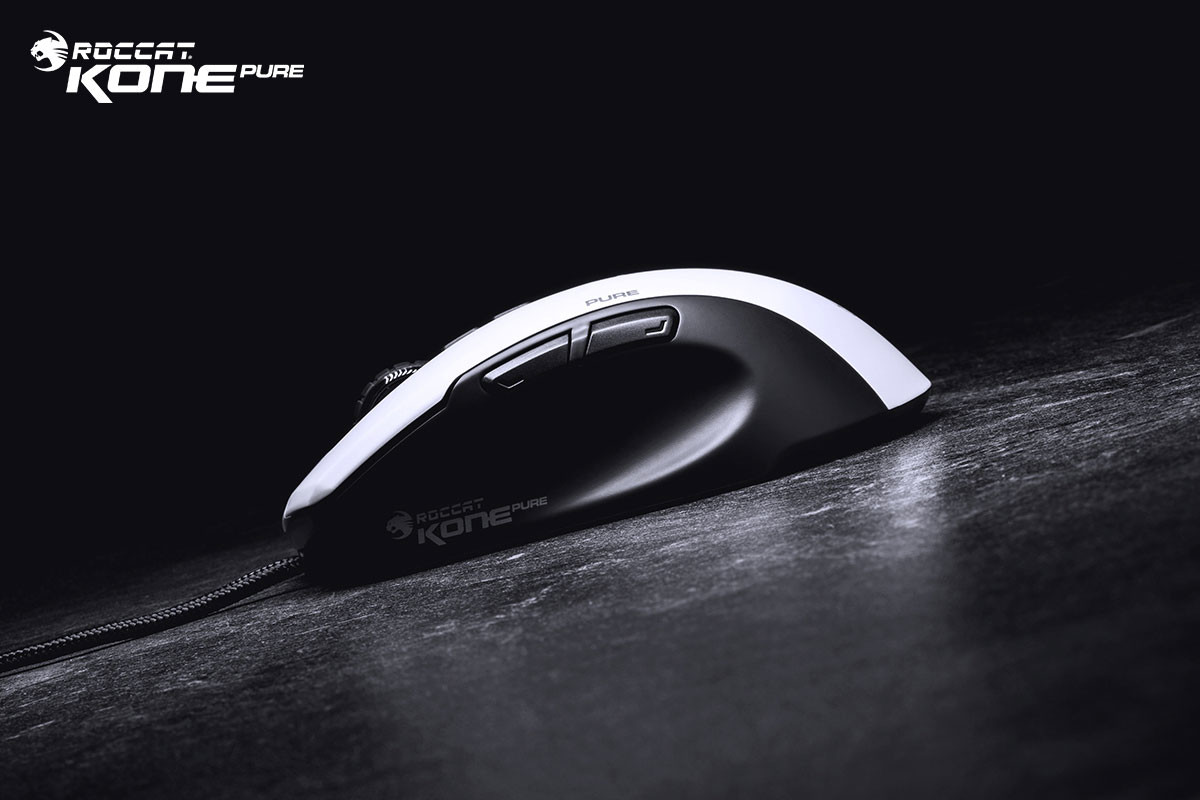 2643094219b Kone Pure Owl-Eye White Tech Specs: ROCCAT Owl-Eye optical sensor with  12000dpi ...