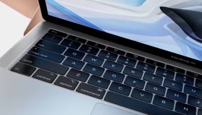 Apple: New Design & Retina display for the MacBook Air 2018